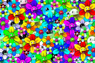 Bright flowers smiles Wallpaper for Android, iPhone and iPad