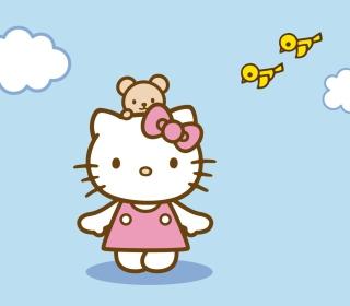 Hello Kitty & Friend - Obrázkek zdarma pro iPad 2
