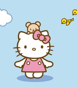 Hello Kitty & Friend - Obrázkek zdarma pro iPhone 5C