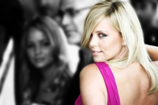 Charlize Theron - Obrázkek zdarma pro Nokia Asha 302