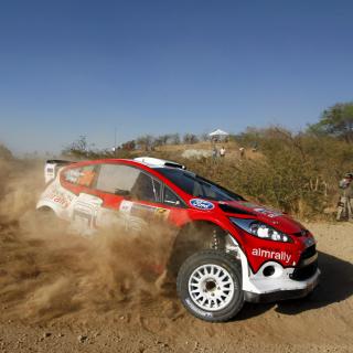 Ford WRC for Rally - Obrázkek zdarma pro 320x320