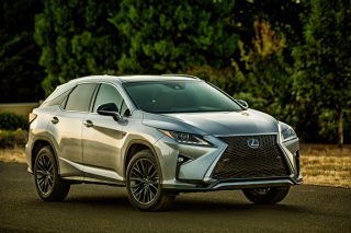 Lexus RX F Sport Luxury Crossover 2015 Wallpaper for Android, iPhone and iPad
