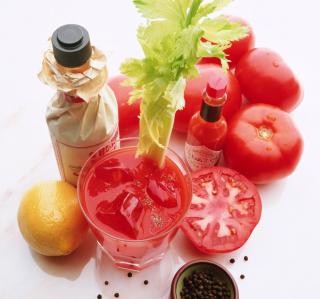 Spicy Tomato Sauce - Tabasco - Obrázkek zdarma pro iPad 3