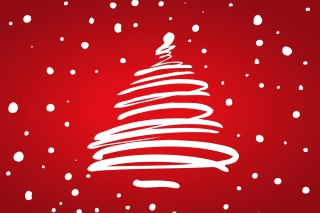 Merry Christmas Red Wallpaper for Android, iPhone and iPad