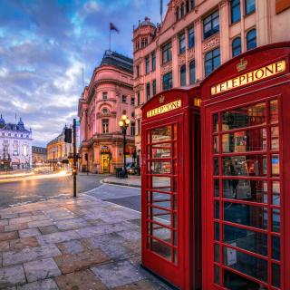 London Street, England - Obrázkek zdarma pro iPad 2
