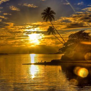 Sunset in Angola - Obrázkek zdarma pro iPad 2