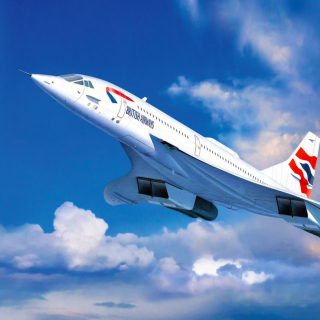 Concorde British Airways - Obrázkek zdarma pro 128x128