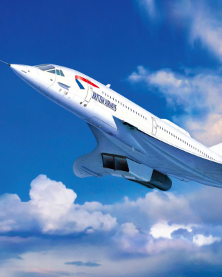 Concorde British Airways - Obrázkek zdarma pro Nokia 300 Asha