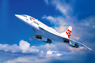 Concorde British Airways - Obrázkek zdarma pro Widescreen Desktop PC 1920x1080 Full HD