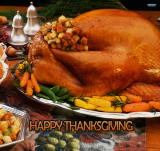 Happy Thanksgiving - Obrázkek zdarma pro iPad mini 2