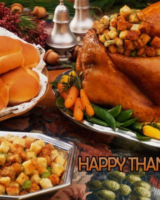 Happy Thanksgiving - Obrázkek zdarma pro Nokia X3