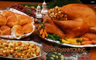 Happy Thanksgiving - Obrázkek zdarma pro 320x240