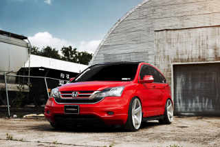 Free Honda CRV Vossen Wheels Picture for Android, iPhone and iPad