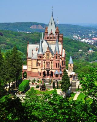 Schloss Drachenburg in Germany - Obrázkek zdarma pro 240x432