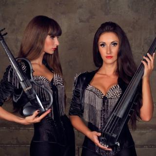 Violinist Girl - Obrázkek zdarma pro 1024x1024