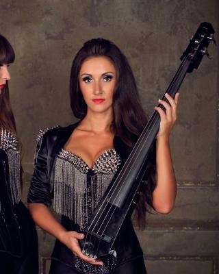Violinist Girl - Obrázkek zdarma pro 640x960