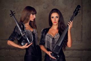 Violinist Girl - Obrázkek zdarma pro 1024x600
