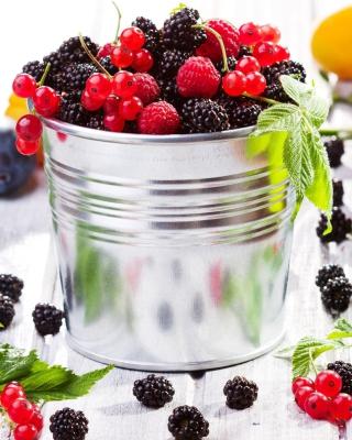 Blackberry, raspberry, currant - Obrázkek zdarma pro iPhone 4S