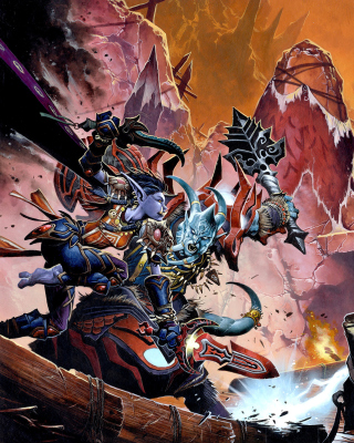 World of Warcraft - Obrázkek zdarma pro Nokia C6-01