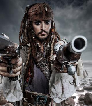 Jack Sparrow - Obrázkek zdarma pro Nokia Asha 306