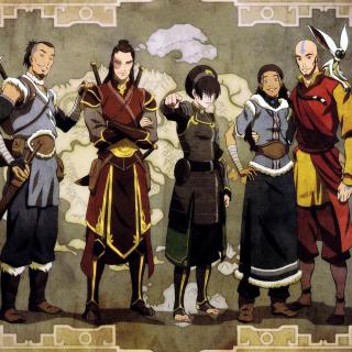 Avatar The Last Airbender - Obrázkek zdarma pro 2048x2048