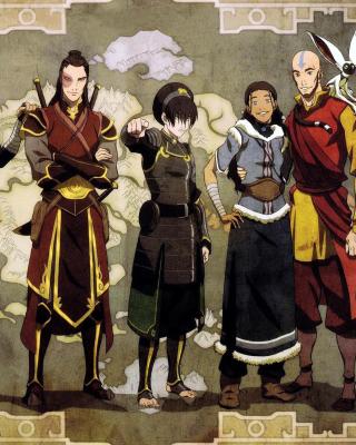 Avatar The Last Airbender - Obrázkek zdarma pro Nokia C5-05