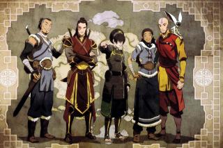 Avatar The Last Airbender - Obrázkek zdarma pro Nokia Asha 210