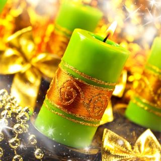 Christmas Candles & Accessories - Obrázkek zdarma pro iPad 2