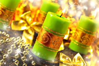 Christmas Candles & Accessories - Obrázkek zdarma pro Widescreen Desktop PC 1680x1050