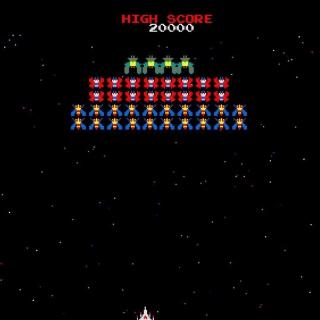Galaxian Galaga Nintendo Arcade Game - Obrázkek zdarma pro 320x320