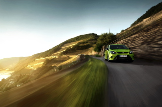 Ford Focus RS Background for Android, iPhone and iPad