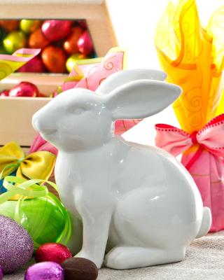 Porcelain Easter hares - Obrázkek zdarma pro 360x400
