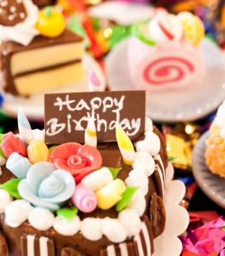 Happy Birthday - Obrázkek zdarma pro Nokia Asha 308