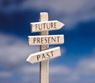 Future Present Past - Obrázkek zdarma pro 1024x1024