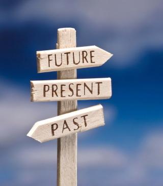 Future Present Past - Obrázkek zdarma pro Nokia Asha 202