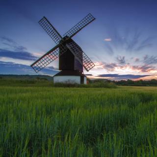 Windmill in Netherland - Obrázkek zdarma pro 2048x2048