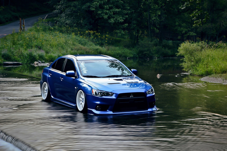 mitsubishi lancer evolution x wallpaper for android