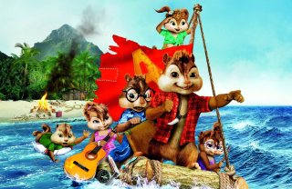 Alvin And The Chipmunks 3 2011 Wallpaper for Android, iPhone and iPad