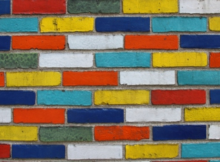 Bricks Background for Android, iPhone and iPad