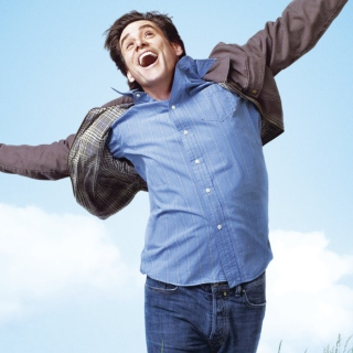 Jim Carrey In Yes Man - Obrázkek zdarma pro iPad Air