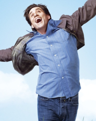Jim Carrey In Yes Man - Obrázkek zdarma pro Nokia Asha 310