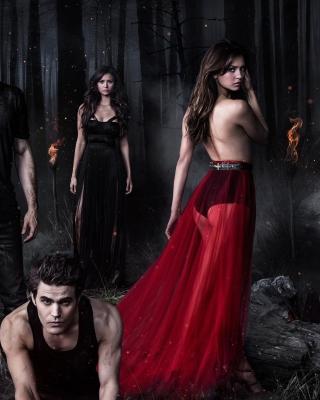 The Vampire Diaries with Nina Dobrev - Obrázkek zdarma pro iPhone 5C