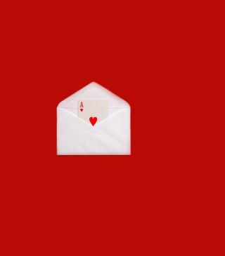 Card In Envelop - Obrázkek zdarma pro 352x416
