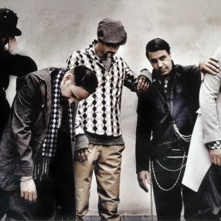 Rammstein Band - Obrázkek zdarma pro 320x320