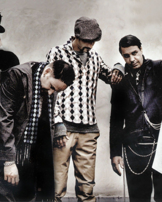 Rammstein Band - Obrázkek zdarma pro Nokia Asha 202