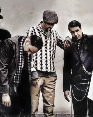 Rammstein Band - Obrázkek zdarma pro Nokia X1-00