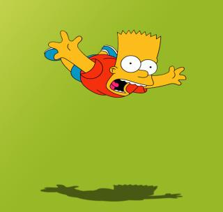Bart Simpson - Obrázkek zdarma pro iPad