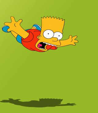 Bart Simpson - Obrázkek zdarma pro Nokia C-Series
