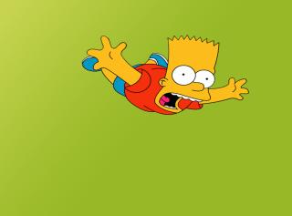 Bart Simpson - Obrázkek zdarma pro Nokia Asha 302