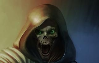 Death Hood - Obrázkek zdarma pro Samsung Galaxy Note 8.0 N5100